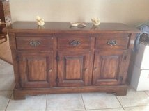 dinning room table and hutch in Alamogordo, New Mexico