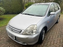 2001 Honda Stream 5dr Petrol Automatic, 7 seats in Lakenheath, UK