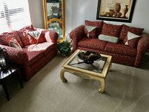 Beautiful Sofa & Loveseat set...Excellent, like new condition! in Joliet, Illinois