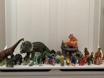 Dinosaur Set- Great Condition! in Beaufort, South Carolina