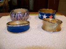 Vintage Hinged Bangle Bracelets $10 each in Chicago, Illinois