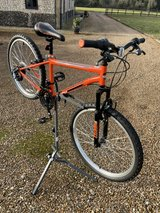 Kids bicycle in Lakenheath, UK