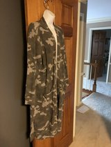 New Long Waffle Camouflage Duster Cardigan - 2X - New with Tags in Batavia, Illinois
