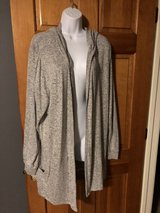 Premise Gray Long Hooded Cardigan -XXL - Super Soft Material in Chicago, Illinois