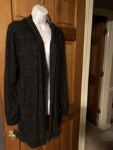 New Premise Charcoal Colored Long Hooded Cardigan - XXL in Chicago, Illinois