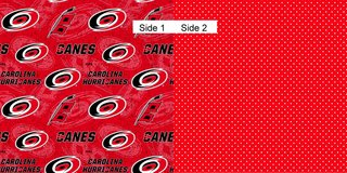 Face Masks 100% Cotton Reversible with Nose Wire - Carolina Hurricanes in Camp Lejeune, North Carolina