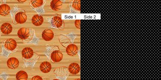 Face Masks 100% Cotton Reversible with Nose Wire - Basketball in Camp Lejeune, North Carolina