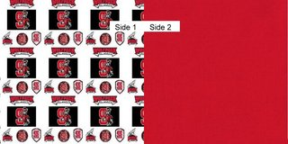 Face Masks 100% Cotton Reversible with Nose Wire - NC State Wolfpack in Camp Lejeune, North Carolina