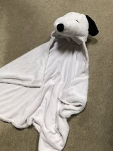 Snoopy hooded blanket in Chicago, Illinois