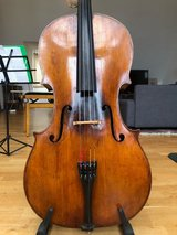 Antique Cello from 1860, Francois Caussin in Stuttgart, GE