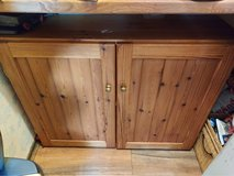 wooden cupboard. will make a great project. 100cm wide x 31cm deep x 76cm high in Lakenheath, UK