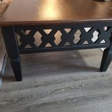 Solid wood coffee table in Spring, Texas
