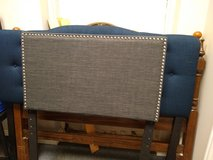 Twin Gray Upholstered Headboard in Bartlett, Illinois