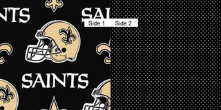 Face Masks 100% Cotton Reversible with Nose Wire - New Orleans Saints in Camp Lejeune, North Carolina