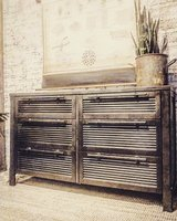 Custom Industrial Buffet/Media/Chest in Bartlett, Illinois