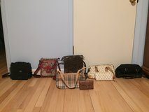 6 woman's purses in Plainfield, Illinois