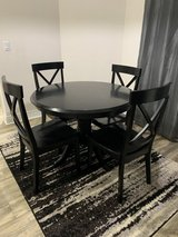 5 Piece Dining Set-Round Table And 4 Chairs in Eglin AFB, Florida
