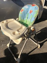 Fisher price easy fold highchair in Camp Lejeune, North Carolina