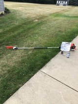 BRAND NEW ECHO STRAIGHT SHAFT POLE CAHIN SAW NEVER HAD GAS IN IT HAD MANUAL AND MISC PARTS in Chicago, Illinois