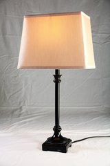 Transitional style Table Lamp and Shade in Oswego, Illinois