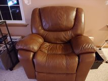 Leather Rocker Recliner in Plainfield, Illinois