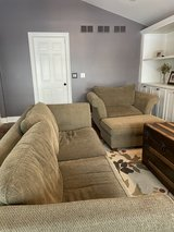 Couch, Oversized Chair & Ottoman in Plainfield, Illinois