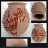 Signed Paquime Pottery by Tito Enriquez in Alamogordo, New Mexico