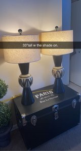 Beautiful accent side table lamps in Westmont, Illinois