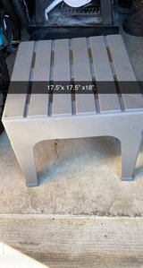 patio plastic side table in Westmont, Illinois