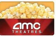 AMC movie theater gift card in Glendale Heights, Illinois