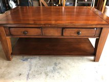 Coffee table and two end tables in Oceanside, California