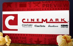 CINEMARK GIFT CARDs in Glendale Heights, Illinois