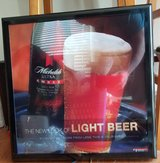 Michelob Ultra Amber light up sign in Fort Campbell, Kentucky