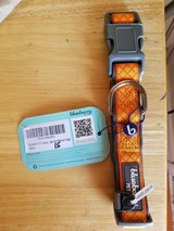 Orange dog collar by Blueberry Pet Med dogs in Fort Campbell, Kentucky