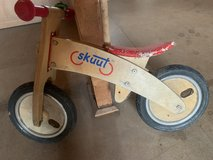 Skuut wooden balance bike in Wiesbaden, GE