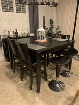 8 Seater Pub Dining Table w/chairs in Travis AFB, California