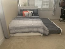 Full size w/twin size trundle bed in Travis AFB, California