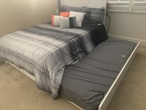 Full size bed w/twin trundle in Travis AFB, California