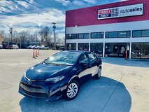 2017 TOYOTA COROLA LE 4D SEDAN 4-CyL 1.8 LITER TEXT (760)481-9441 in Clarksville, Tennessee