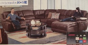 Breckenridge Hills Reclining Sectional in Clarksville, Tennessee