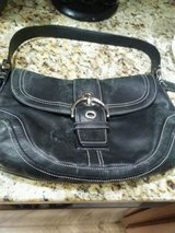 Black Coach Purse in Plainfield, Illinois