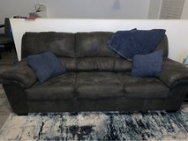 Sofa with full sleeper and ottoman in Westmont, Illinois