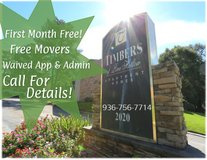 1ST MONTH FREE + FREE MOVE! in Conroe, Texas