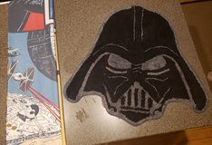 STAR WARS FABRIC SHOWER IS AND DARTH VADER RUG in Plainfield, Illinois