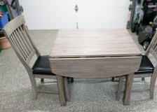 Drop leaf table with two chairs in Plainfield, Illinois