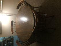 Dining table & 4 chairs in Aurora, Illinois