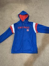 Chicago Cubs Sweater With Hoodie in Plainfield, Illinois