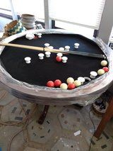 Dinning /bumper pool table/ poker in Yucca Valley, California