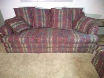 Sleeper sofa and matching love seat in Westmont, Illinois