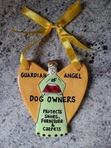 NEW Guardian Angel of Dog Owners Hanging Plaque in Westmont, Illinois